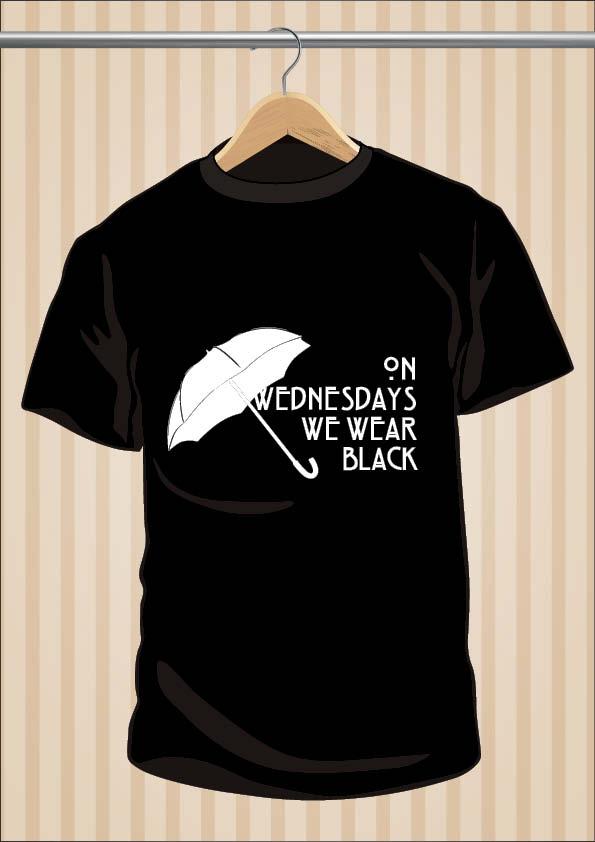 On Wednesdays We Wear Black AHS Coven T-Shirt | UppStudio