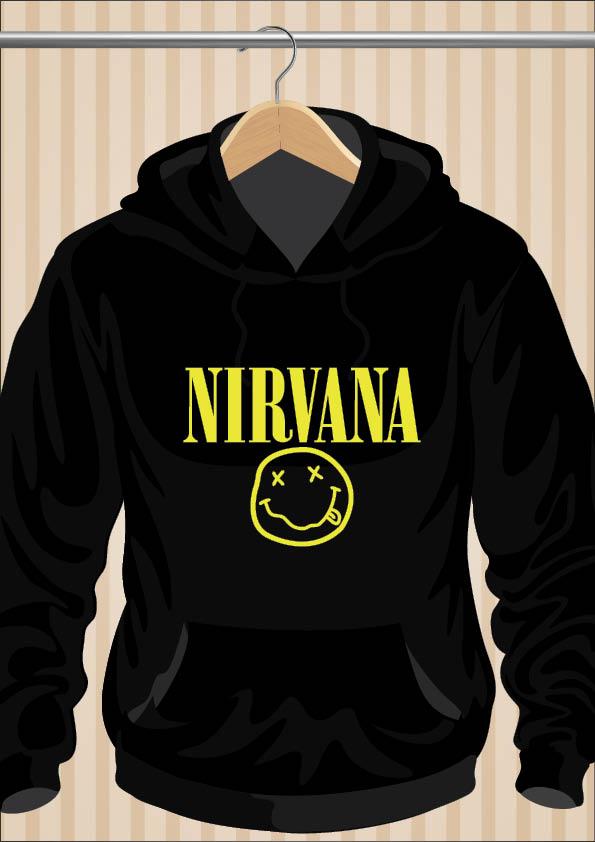 Nirvana Kurt Cobain Hoodie | UppStudio