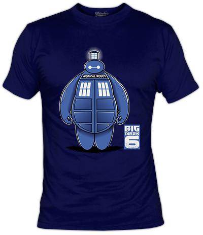 BigTardis6 T-Shirt | Fanisetas