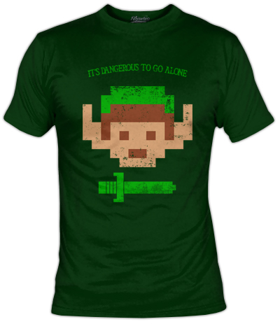 Zelda's T-Shirt | It's Dangerous To Go Alone