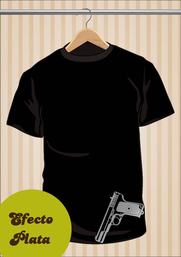 Gun T-Shirt | UppStudio