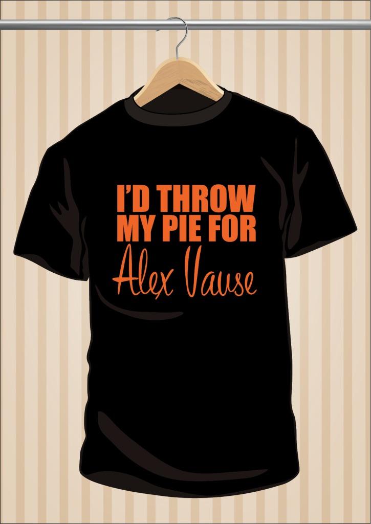 Orange Is The New Black OITNB T-Shirt I'd Throw My Pie For Alex Vause | UppStudio