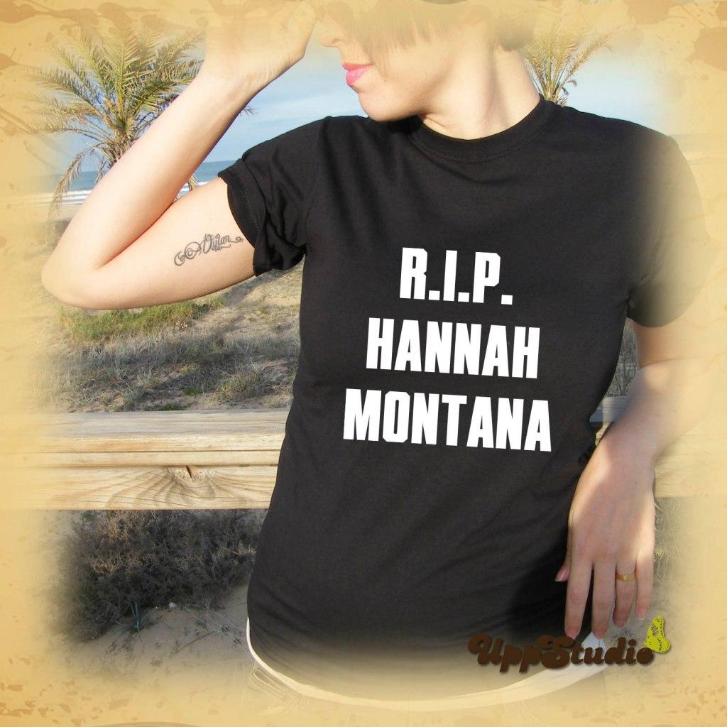 RIP Hannah Montana T-Shirt Miley Cyrus | UppStudio