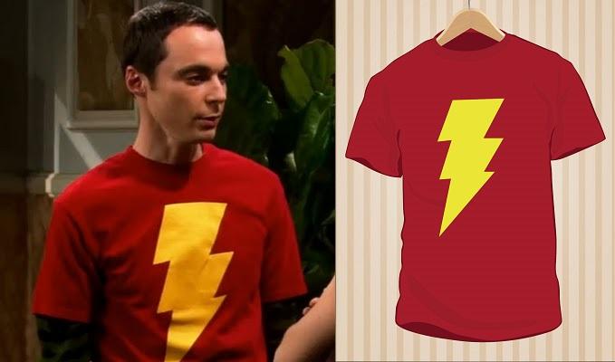 Sheldon Cooper Shazam T-Shirt | UppStudio