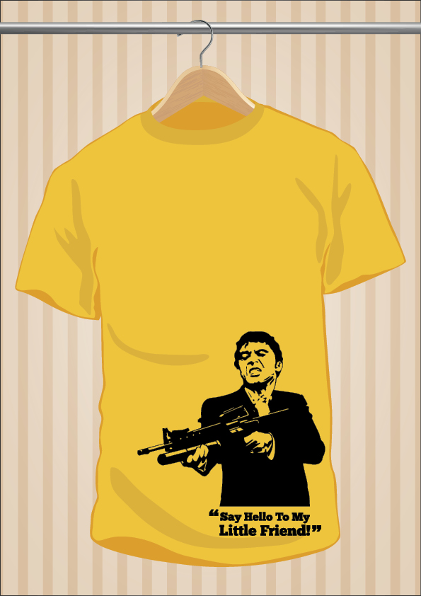 Scarface T-Shirt | UppStudio