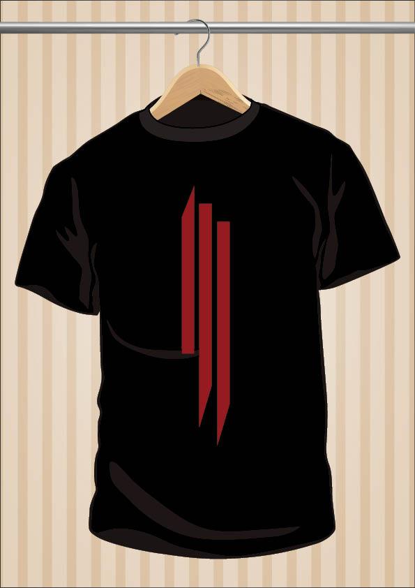 Skrillex Symbol T-Shirt Tee | UppStudio