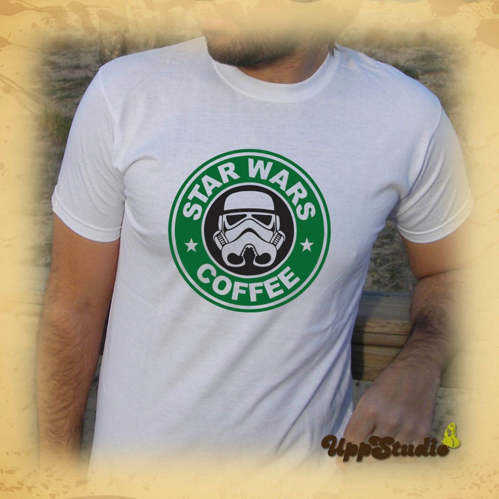 Star Wars Coffee Starbucks T-Shirt  | UppStudio