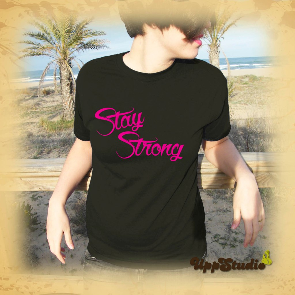 Stay Strong Demi Lovato T-Shirt Tee | UppStudio