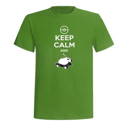 Keep Calm And Snorlax T-Shirt | Frikimono