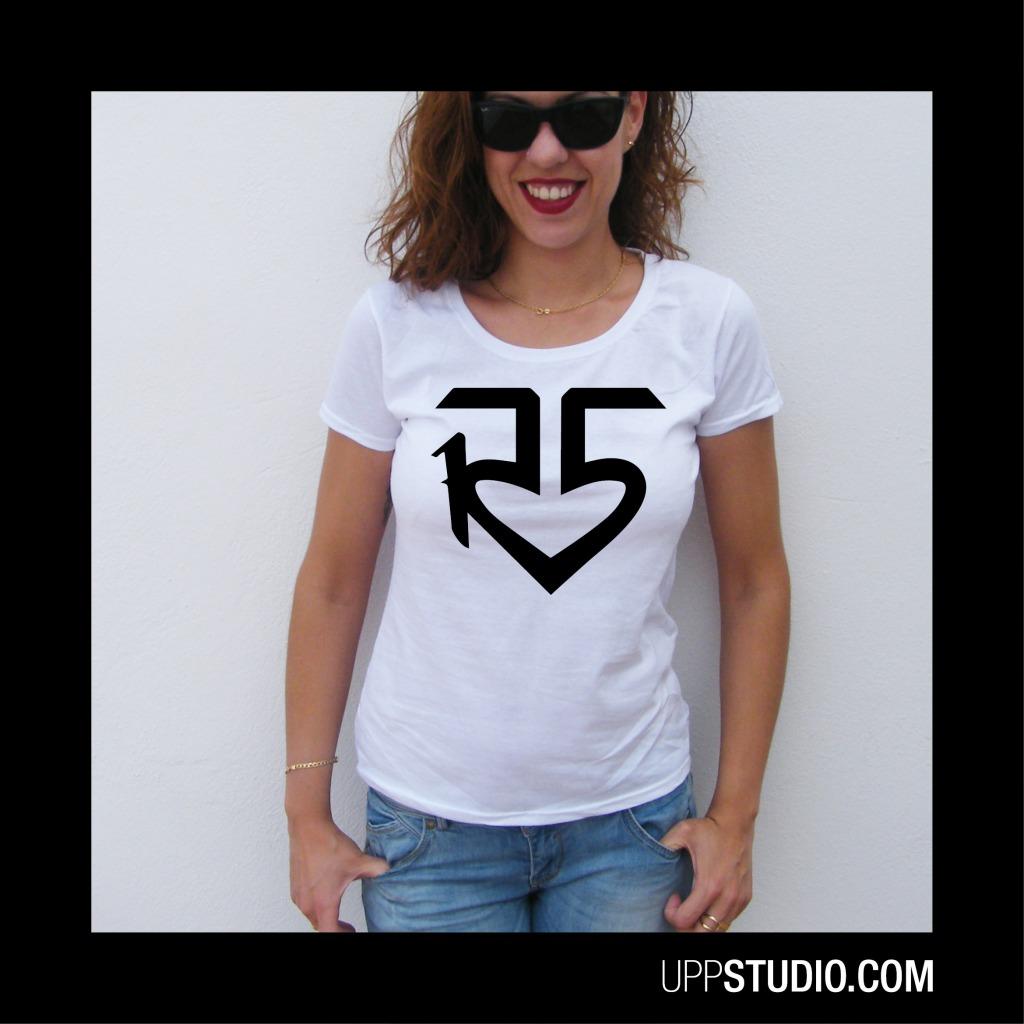 R5 Logo T-Shirt Band | UppStudio