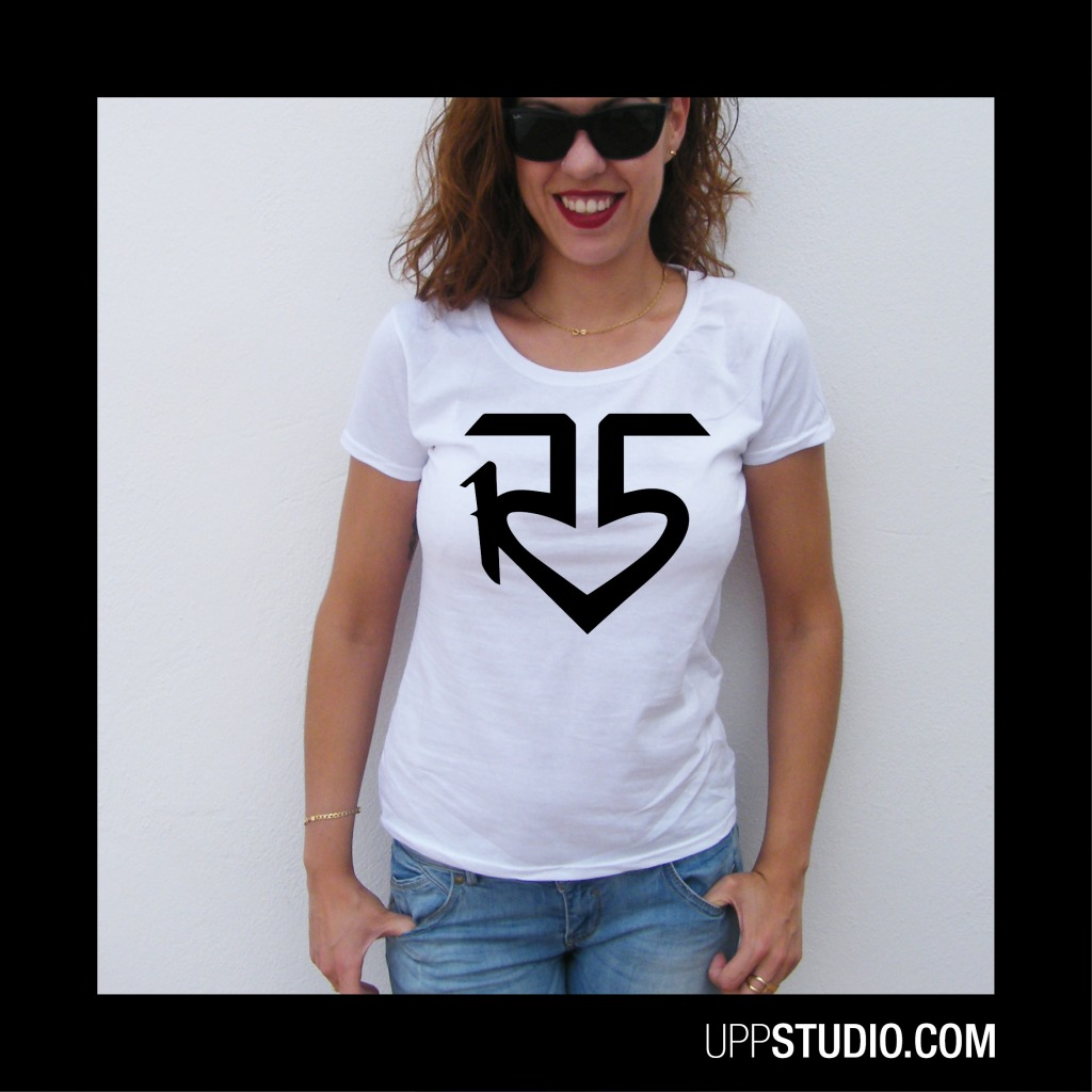 R5 Logo T-Shirt Band | UppStudio