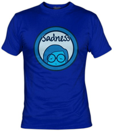 Sadness T-Shirt | Inside Out | Fanisetas