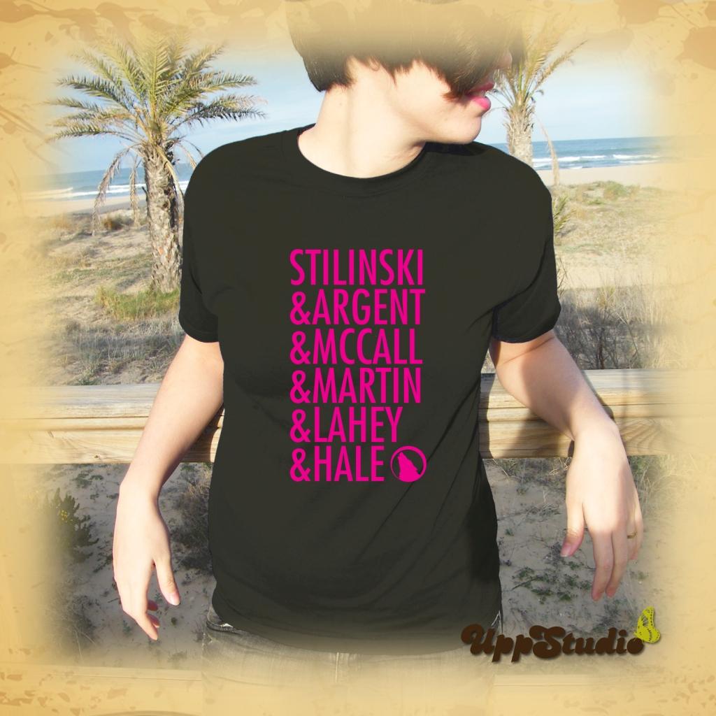 Teen Wolf T-Shirt Stilinski Argent McCall Martin Lahey Hale T-Shirt Tee | UppStudio