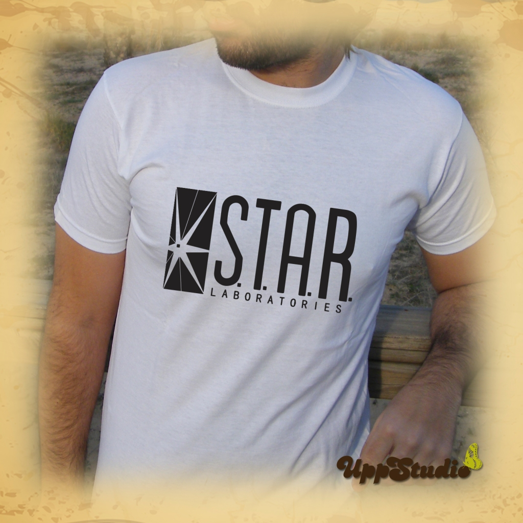 The Flash Star Laboratories T-Shirt | S.T.A.R. Labs Tee | UppStudio
