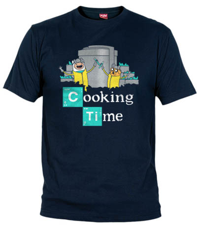 Cooking Time T-Shirt | Breaking Bad | Adventure Time | Fanisetas