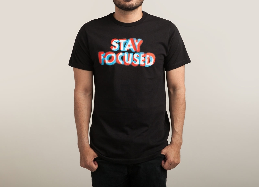 3D T-Shirt | Stay Focussed | Threadless