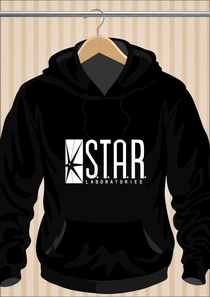 The Flash Hoodie Star Laboratories Hoodie | UppStudio