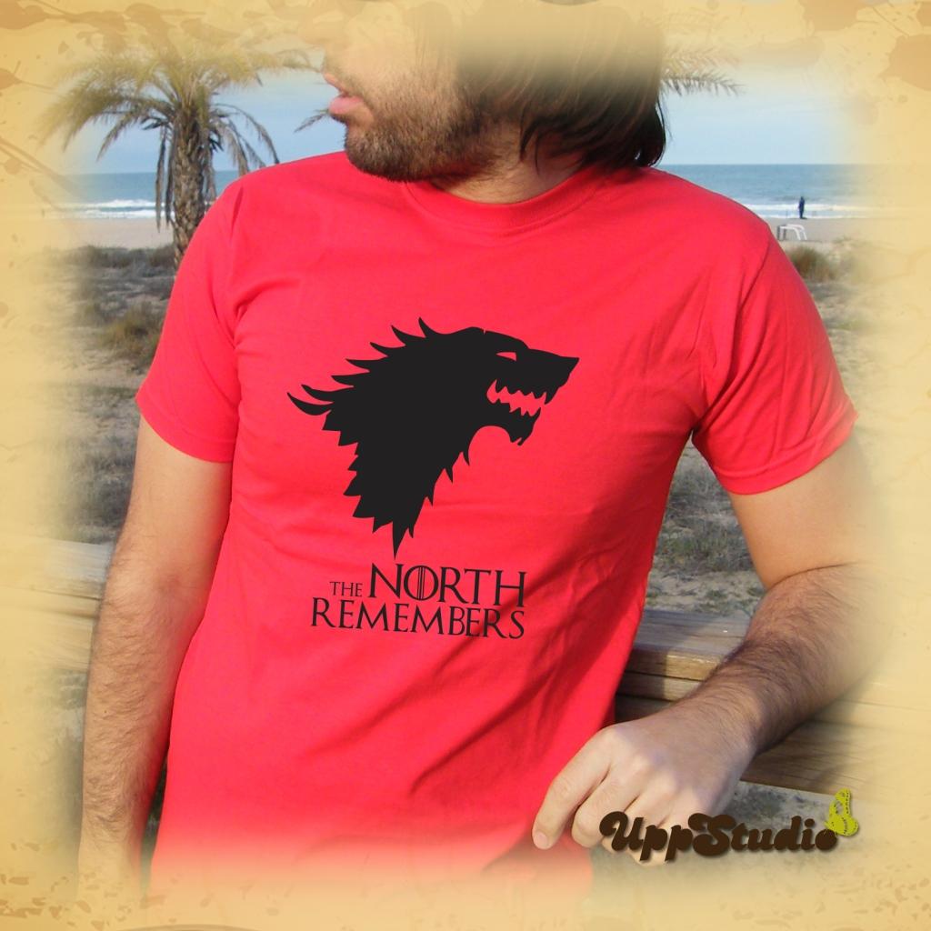 The North Remembers T-Shirt Stark | Game Of Thrones | UppStudio
