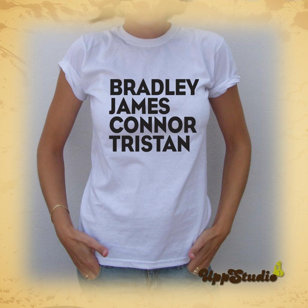 The Vamps T-Shirt Tee Tristan Evans Connor Ball James McVey Bradley Simpson | UppStudio