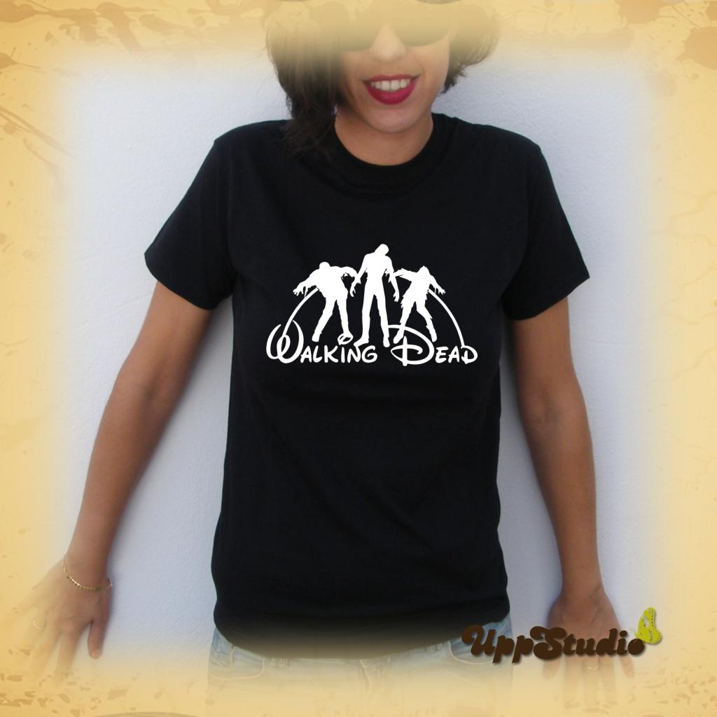 The Walking Dead Disney T-Shirt Tee Zombies | UppStudio
