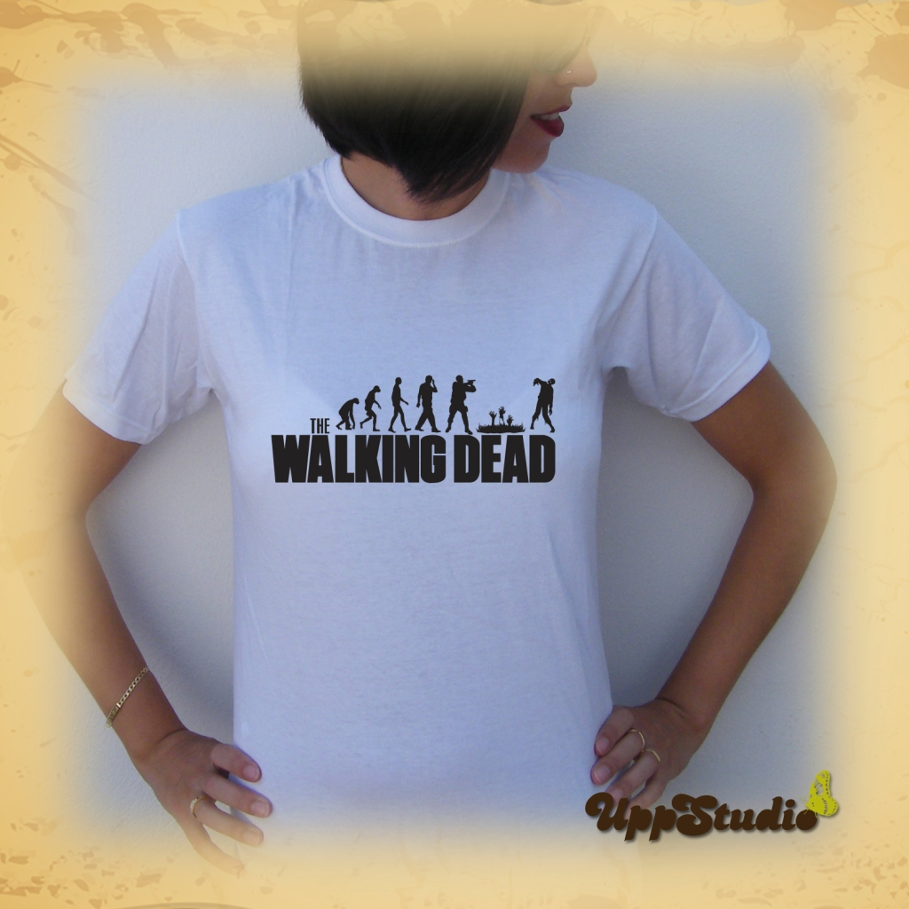 The Walking Dead Zombie Evolution T-Shirt | UppStudio