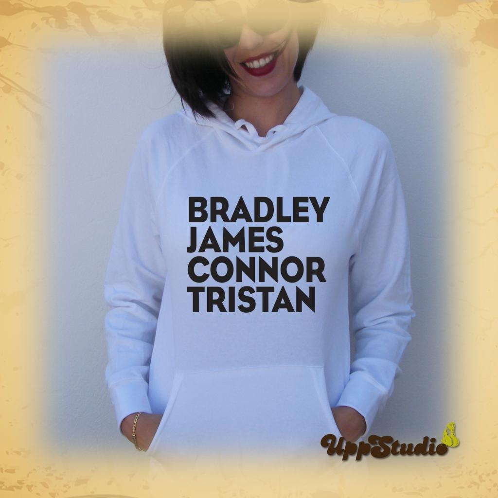 The Vamps Hoodie Tristan Evans Connor Ball James McVey Bradley Simpson   UppStudio