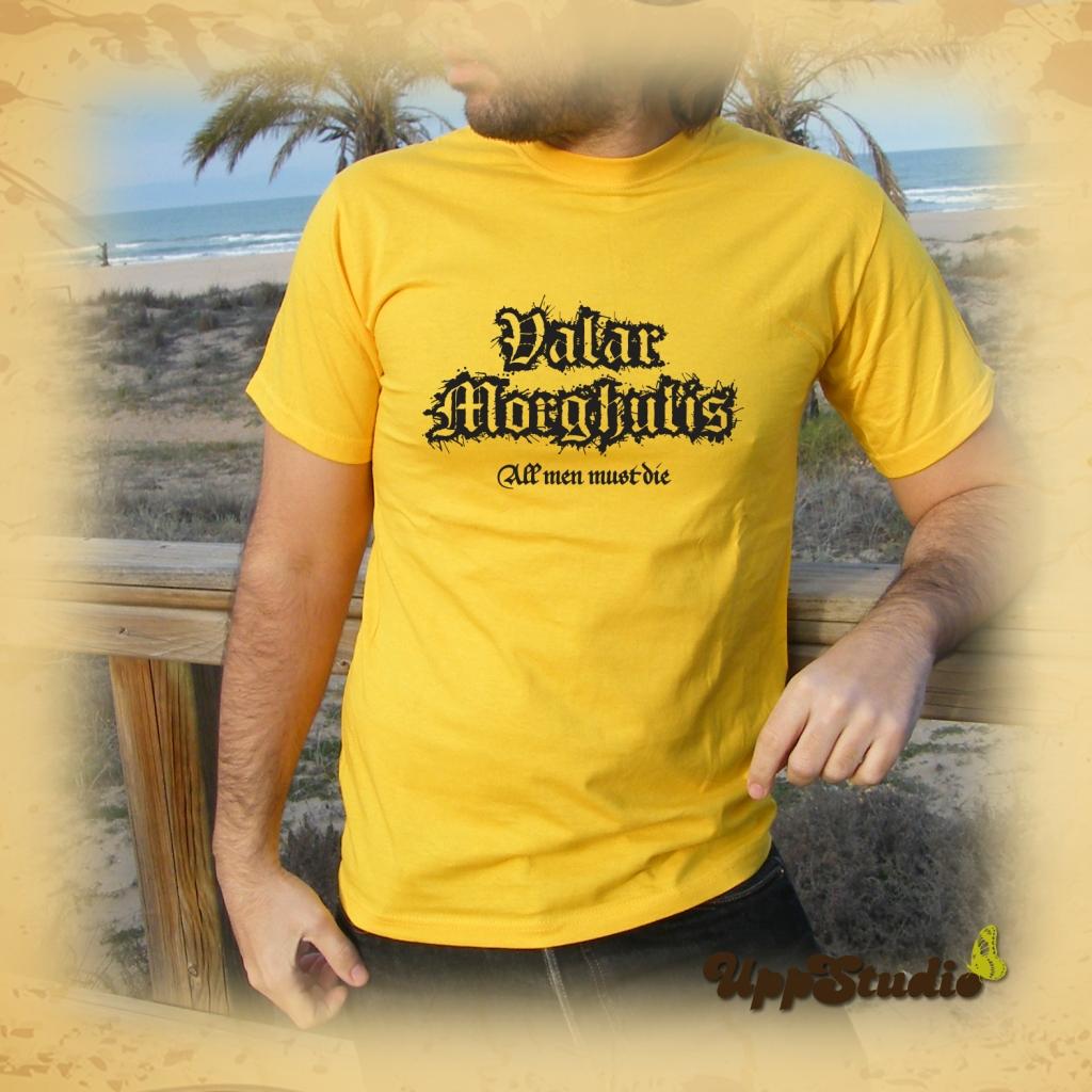 Valar Morghulis T-Shirt Game Of Thrones | UppStudio