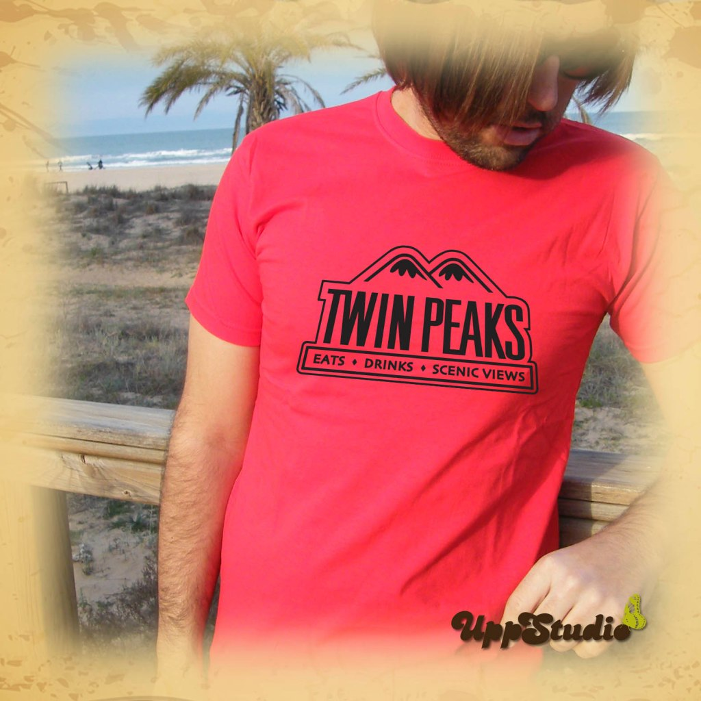 Twin Peaks Eats Drinks Scenic Views T-Shirt | UppStudio