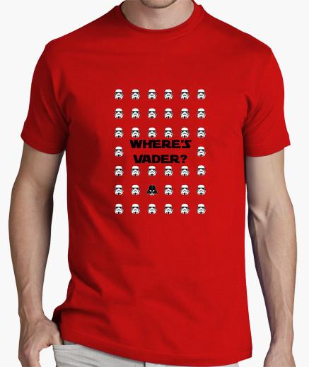 Where's Vader T-Shirt | Star Wars | Psicocine