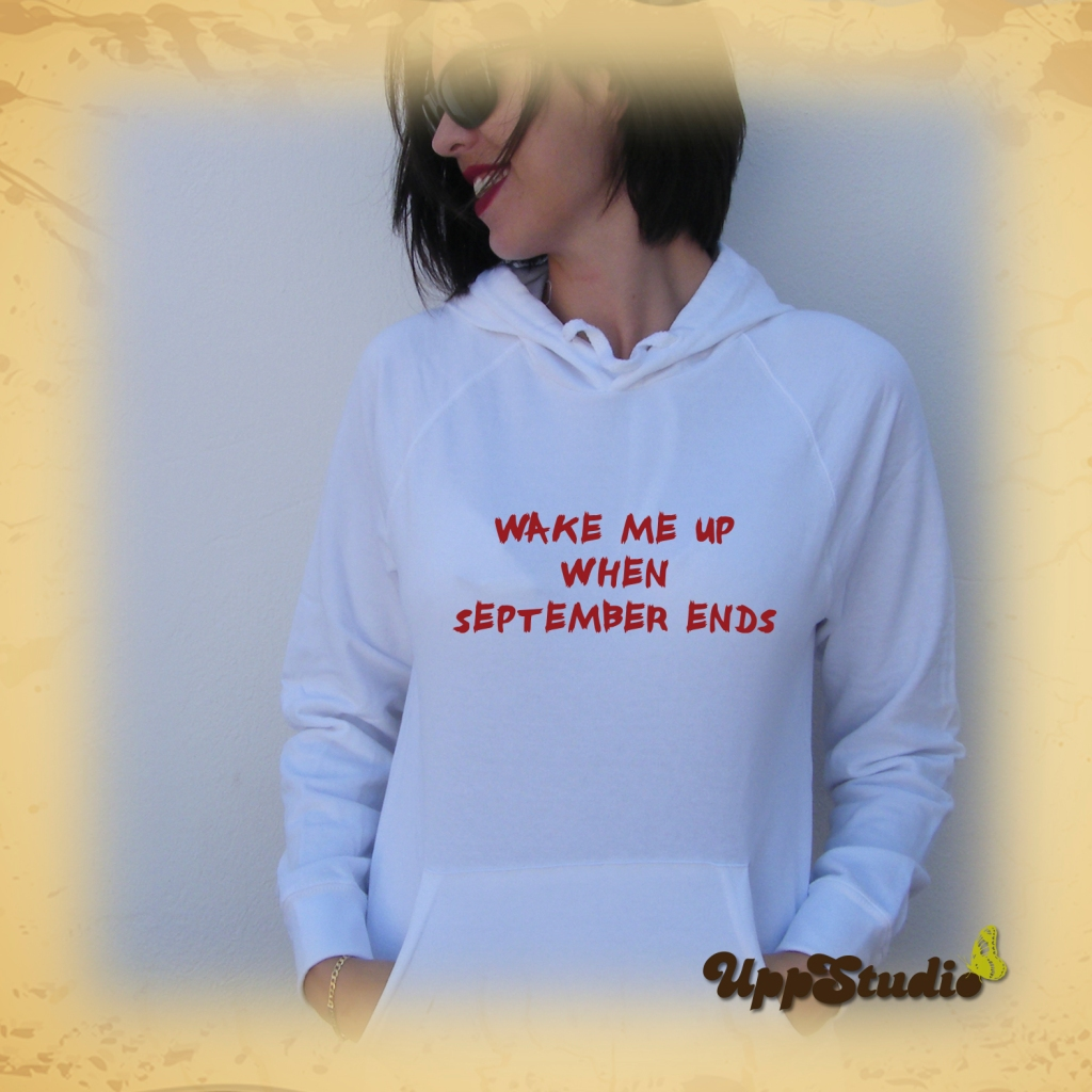 Green Day Hoodie | Wake Me Up When September Ends | UppStudio