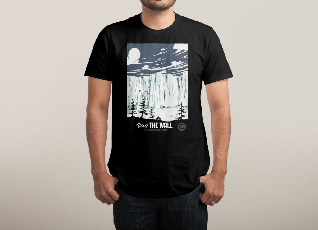 Visit The Wall T-Shirt | Game Of Thrones