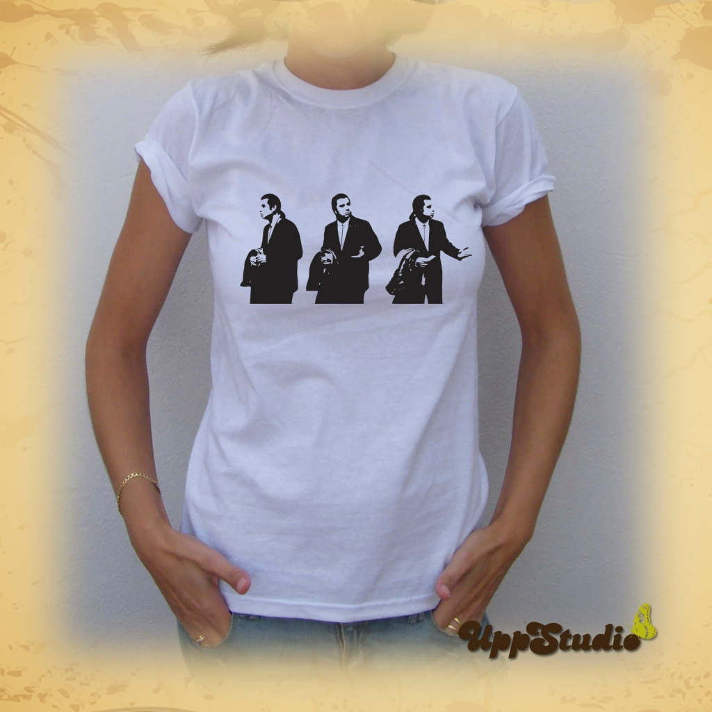 Confused Travolta T-Shirt Tee Pulp Fiction | UppStudio