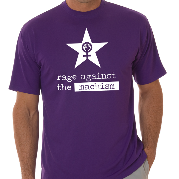 Rage Against Quotes: Rage Against The Machism T-Shirt