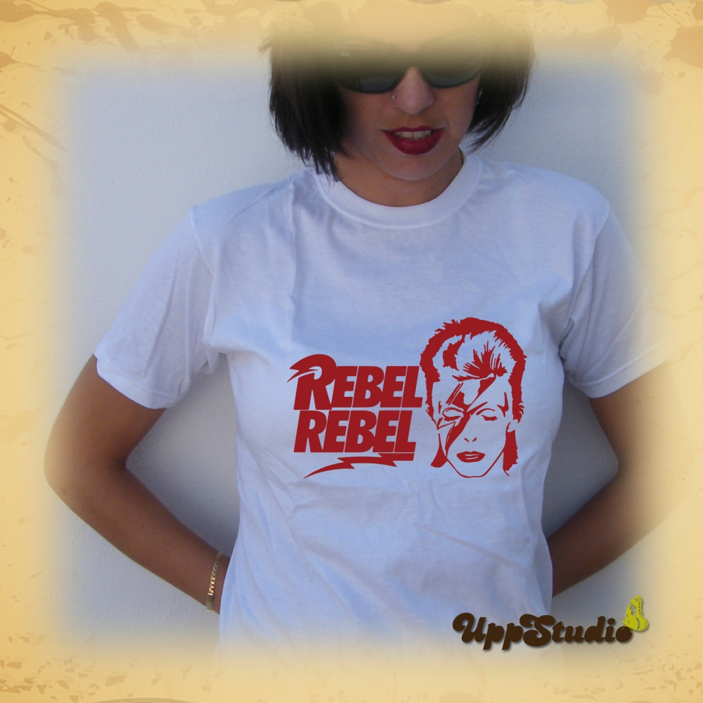 David Bowie Rebel Rebel T-Shirt Tee | UppStudio