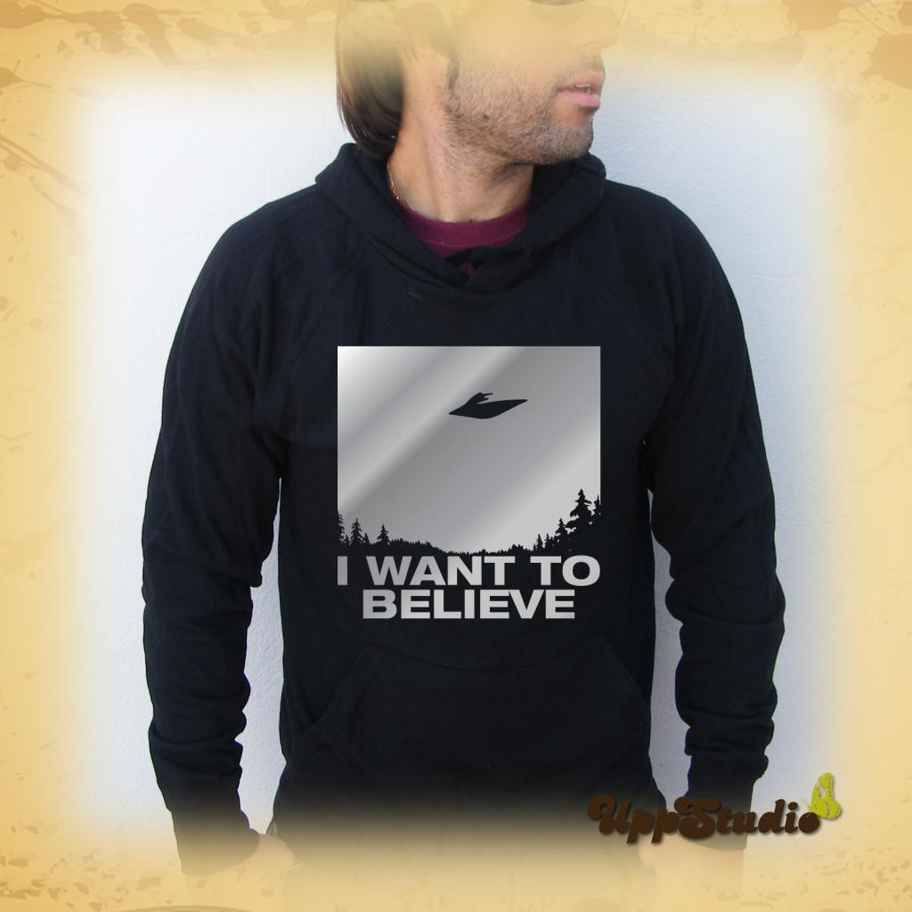 The X Files Hoodie | I want to believe | UppStudio