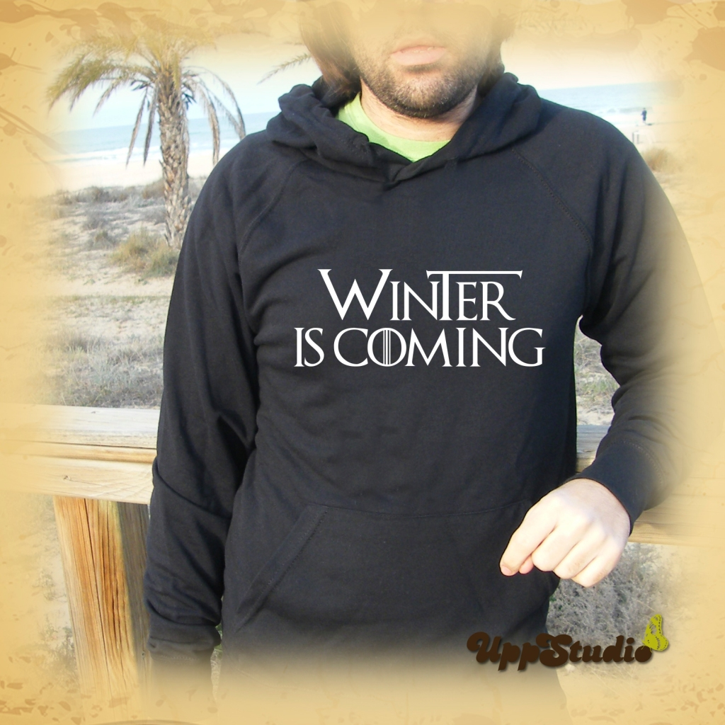 Winter Is Coming Hoodie | Game Of Thrones | UppStudio