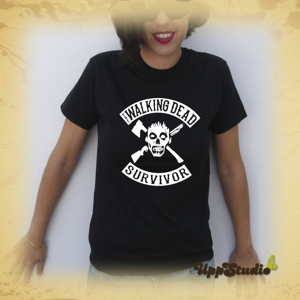 The Walking Dead Survivor T-Shirt Tee | UppStudio