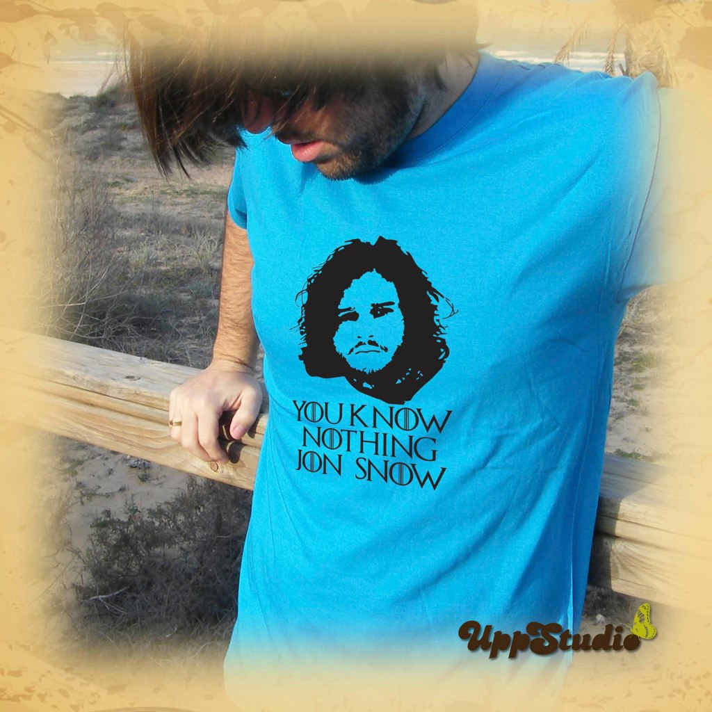 You Know Nothing, Jon Snow T-Shirt | Game Of Thrones | UppStudio