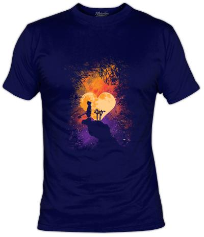 Kingdom Hearts T-Shirt | Heart of Gold | Fanisetas