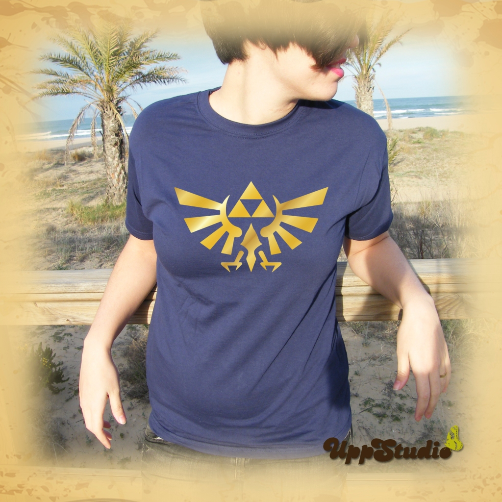 The Legend Of Zelda Trifuerza Triforce T-Shirt Tee | UppStudio