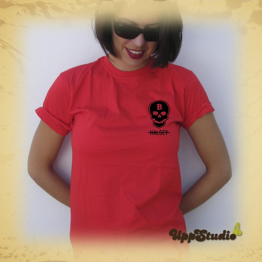 Halsey Skull T-Shirt | UppStudio