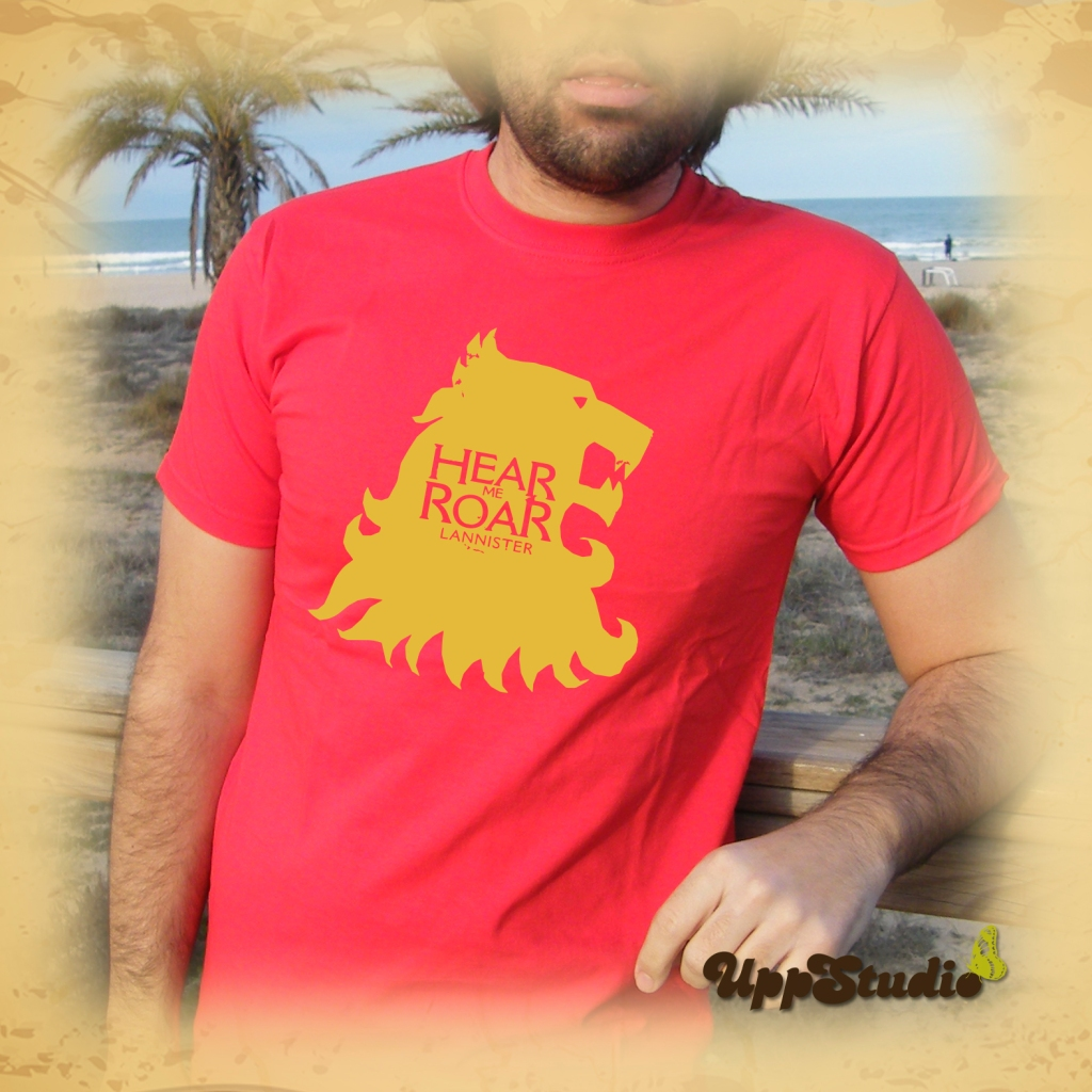 Hear Me Roar Lannister T-Shirt Game Of Thrones Tee | UppStudio