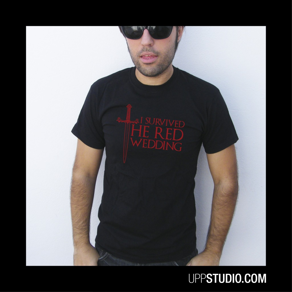 I Survived The Red Wedding T-Shirt Tee Game Of Thrones | UppStudio