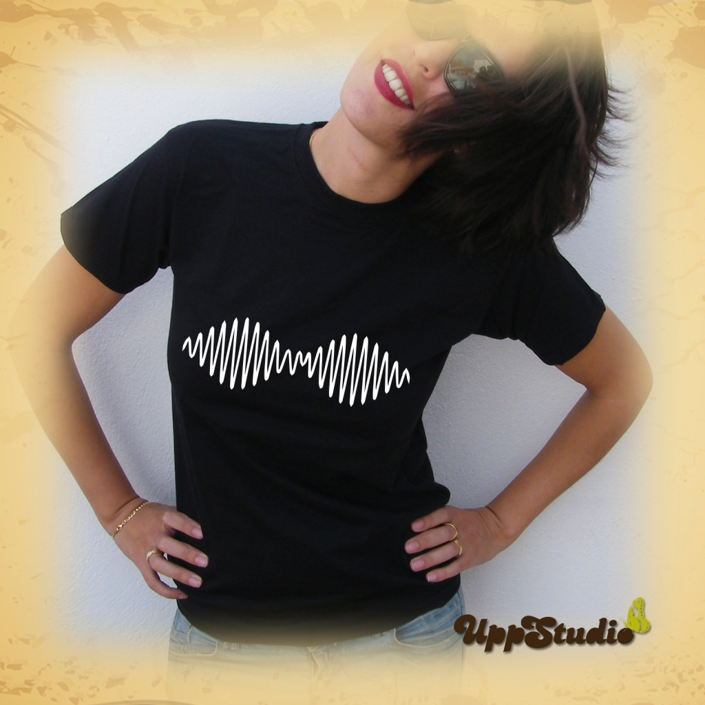 Arctic Monkeys AM T-Shirt Tee Wave | UppStudio