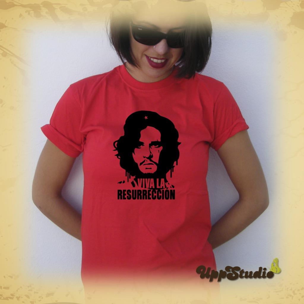 Jon Snow Viva La Resurrección T-Shirt Tee Game Of Thrones | UppStudio