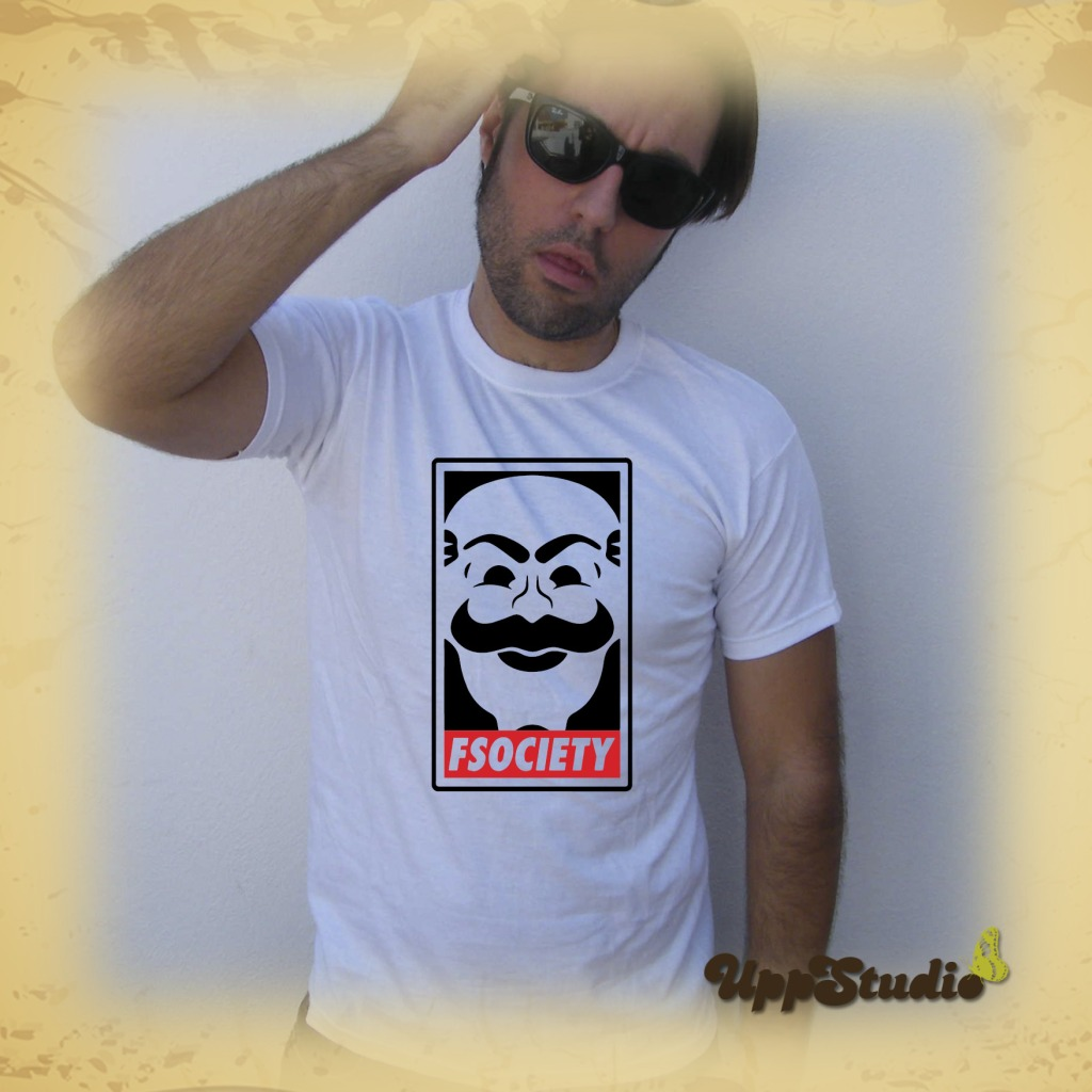 Mr Robot FSociety T-Shirt Tee | UppStudio