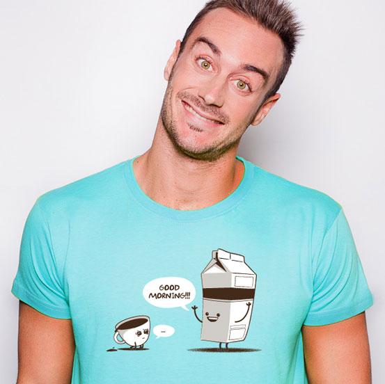 Good Morning T-Shirt | Friking | Coffee