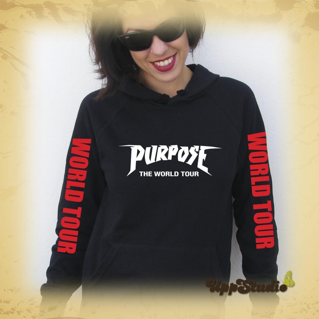 Justin Bieber Purpose The World Tour Hoodie Sweatshirt | UppStudio
