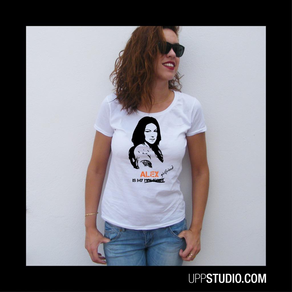 Orange Is The New Black OITNB Alex Vause Is My Girlfriend T-Shirt Tee | UppStudio