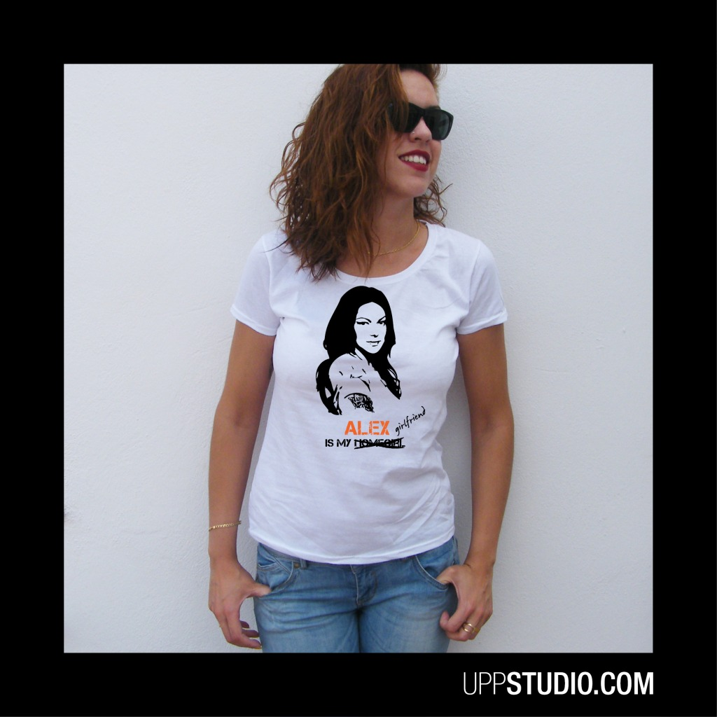 Orange Is The New Black OITNB Alex Vause Is My Girlfriend T-Shirt Tee | UppStudio